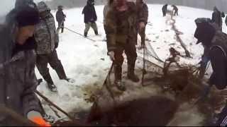 """Клип """"мунха"""" зимняя рыбалка якутов смотреть всем!"""