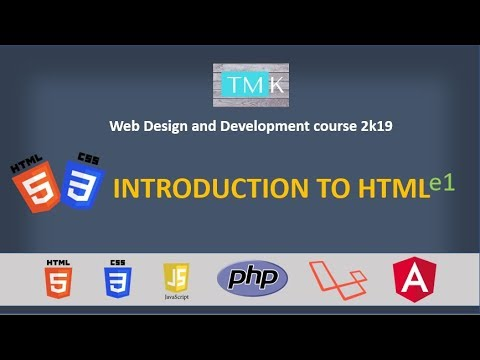 Introduction To Websites And HTML
