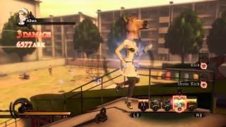 Deception IV: The Nightmare Princess 49K ark combo (D.Seption Park)