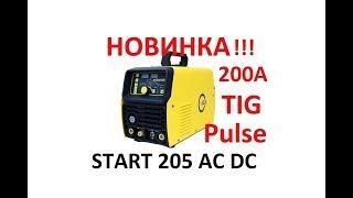 START 205 AC DC Pulse tig Сварочный Аппарат Аргонодуговой Сварки Обзор Отзывы Купить Цена