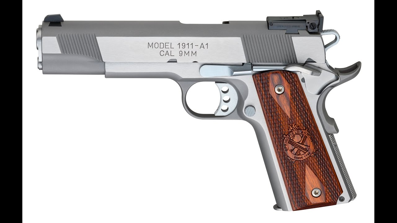 Springfield Armory 1911 Loaded 9mm