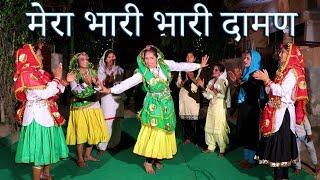 मेरा भारी भारी दामण | Haryanvi Folk Song - 36 | Neetu Jha & Shama Chaudhary | हरियाणवी लोकगीत