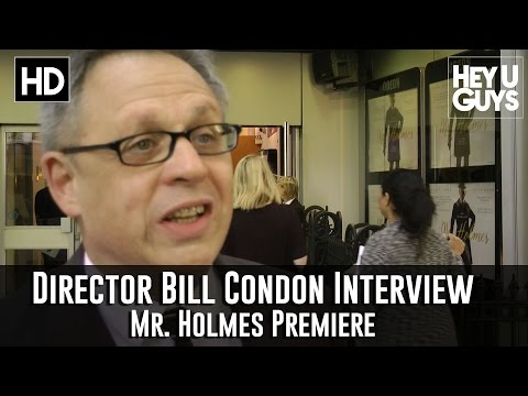 Director Bill Condon Interview - Mr. Holmes