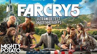 FarCry 5 Secret Ending - 3440x1440 Ultrawide Test