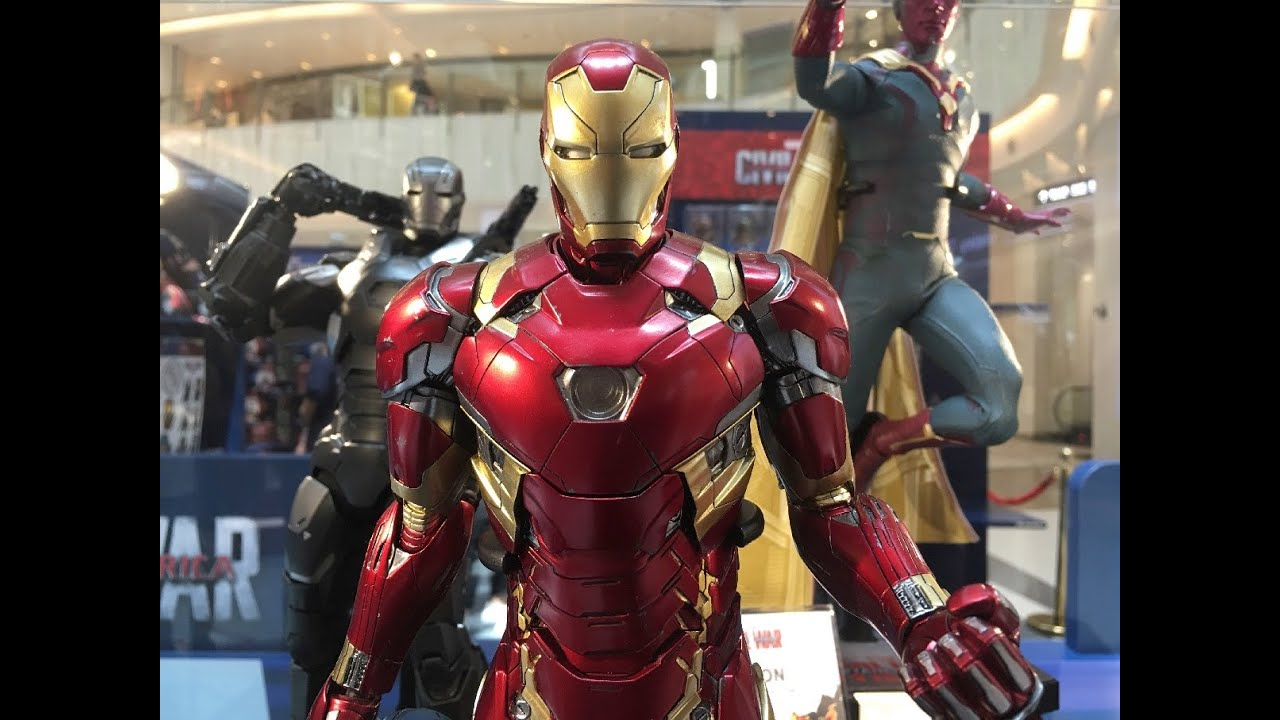 Diecast Iron Man Mark 46 prototype from Civil War by Hot ...