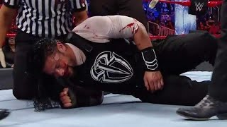 WWE ROMAN REIGNS INJURY BREAKING NEWS