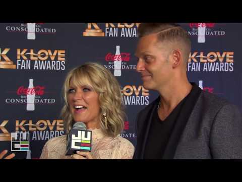 Natalie Grant & Bernie Herms | Red Carpet | K-LOVE Fan Awards 2017