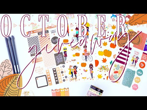 October Giveaway! Happy Planner Stickers, Planner Clips, Washi, And More!