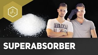 Superabsorber – Krasse Chemie in der Windel