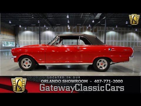 1963 Chevrolet Nova II SS Gateway Classic Cars Orlando #154