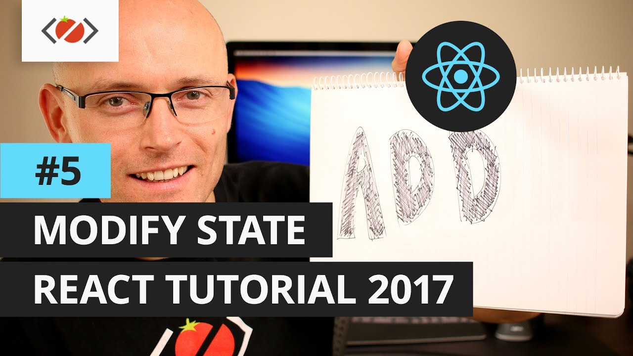 React setState Tutorial 2017 - Add items to a list