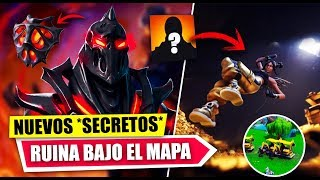 NEW SECRETS *RUIN UNDER MAP* DISCOVERY *FILTRATED* FORTNITE BATTLE ROYALE