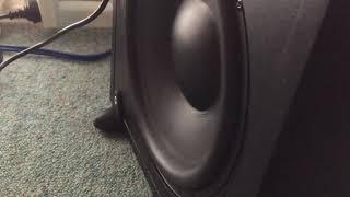 Kef Subwoofer Bass Test! INSANE!!
