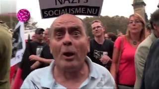 Pow verstoort anti racisme demonstratie