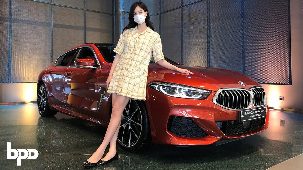 BMW 8시리즈 그란쿠페 몸매가 ㅎㄷㄷ...