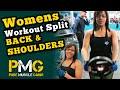 Girls Gym Routine/Split: Day 2: Back & Shoulders
