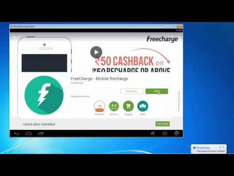 Freecharge app for windows 7/8 1/10 PC