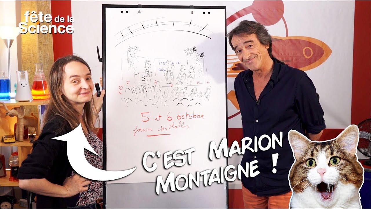 Fred et Marion Montaigne vous invitent à fêter la science !