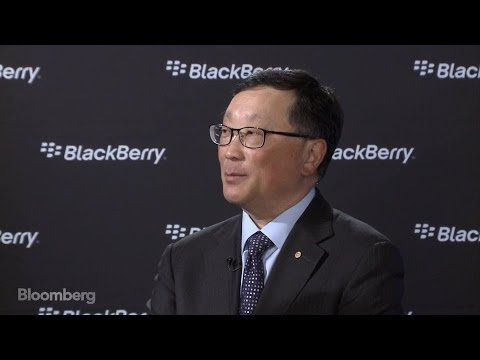 BlackBerry's Chen Says Company's Made Progress