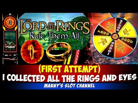 New Slot! (First Attempt) Lord Of The Ring One Ring To Rule Them All -  I Collect All Eyes And Rings
