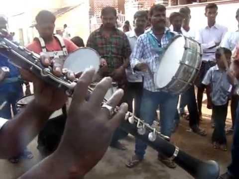 இராத்திரி நேரத்து பூஜையில் - Clarinet & Band Group Mullaikottu-2014
