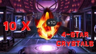 Marvel Contest of Champions - Crystal Opening: 10 X 4-STAR CRYSTALS