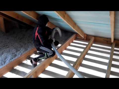видео: Утепление потолка Каркасный дом глазами заказчика