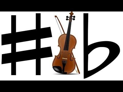 Sharps And Flats On The Violin 🎻 Music Theory
