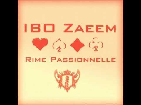 IBO Zaeem - Rime Passionnelle
