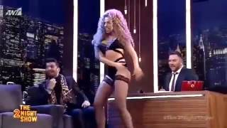Anastasia Giousef The 2night show αρναουτογλου