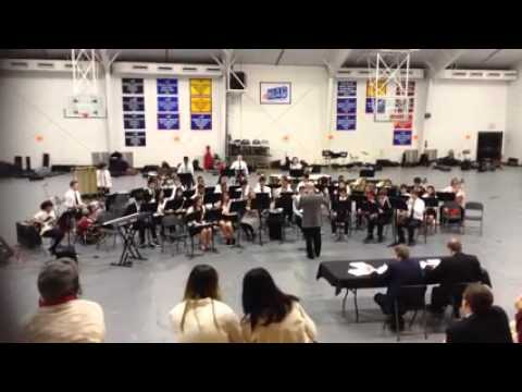 Chapelgate Christian Academy Symphonic Band ACSI 2015 Zeus