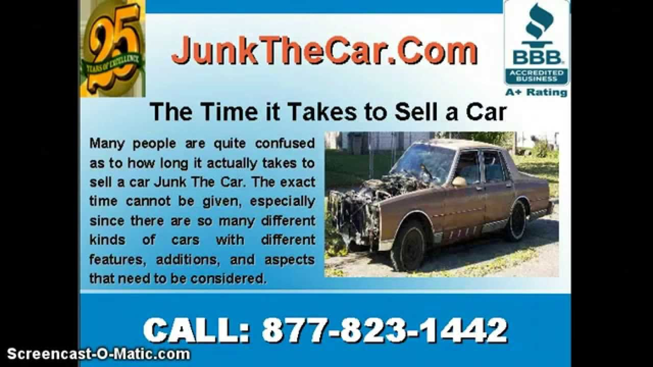 Sell Junk cars, Get cash For cars - YouTube