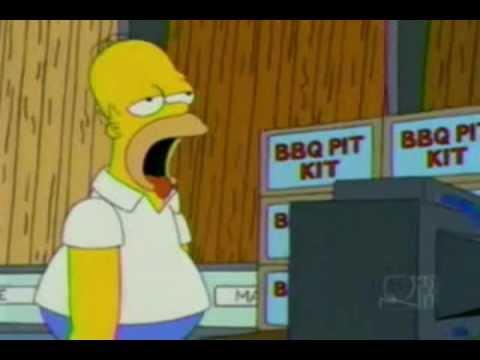Mmm.. Homer Simpson