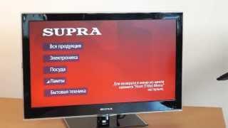 Обзор телевизора SUPRA STV-LC2477FLD