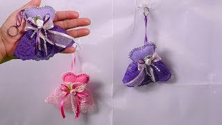 DIY EASY Cute Key chains How to make unique Key holder