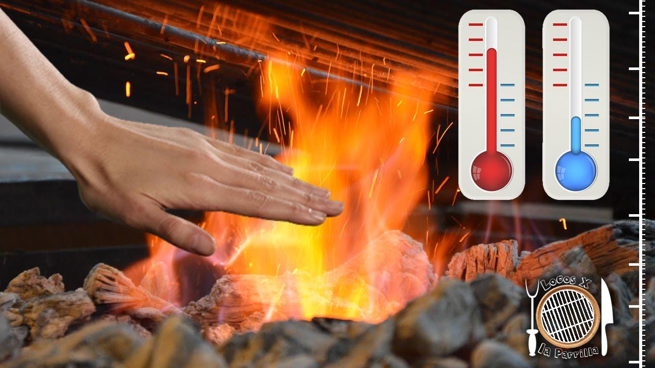 Como calcular la temperatura de la parrilla con la mano - Parrilla de la vanguardia ...