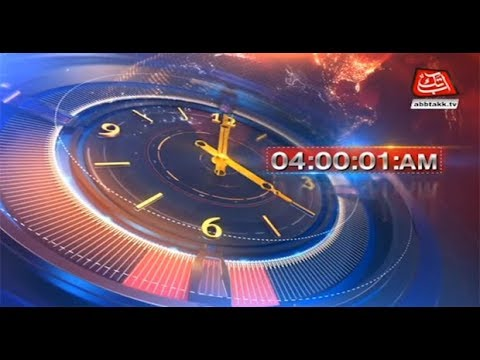 AbbTakk Headlines – 04 AM – 26 May 2018