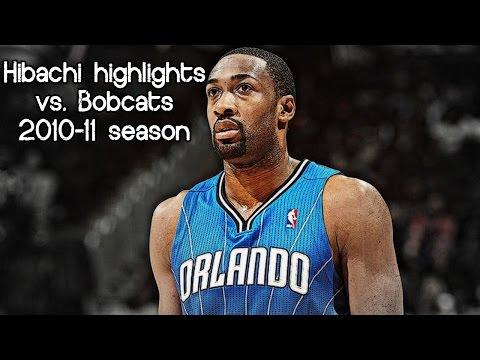 Gilbert Arenas 25 pts, 2 ast & 2 reb (NBA RS 2010/2011 - Orlando Magic vs. Charlotte Bobcats)