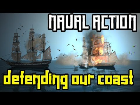 """Naval Action: """"Defending our coast"""" - Ep.10 - Gameplay"""
