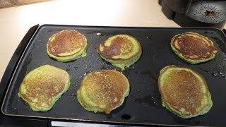 Healthy, Pancakes, Spinach, Carrot