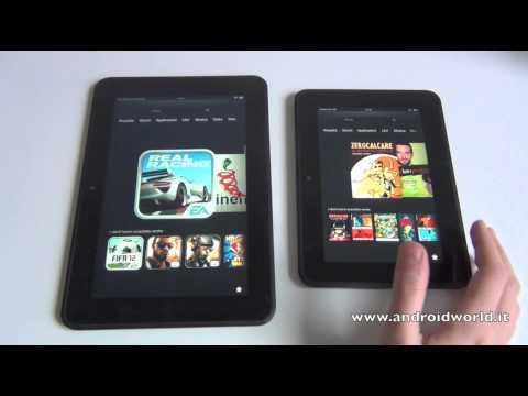 Amazon Kindle Fire HD 8.9 vs Kindle Fire HD: il confronto