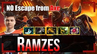 Ramzes - Axe Offlane | NO Escape from Axe | Dota 2 Pro MMR Gameplay #2
