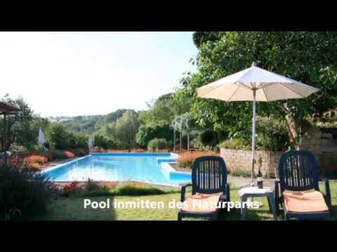 Ferien und Urlaub in der Toskana - «Le Valli» Volterra-Pomarance Italien