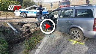 Incidente stradale tra Ripa e Pianello di Perugia, donna di 50 anni in rianimazione