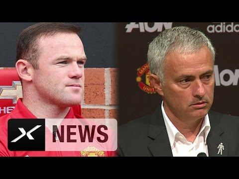 "Jose Mourinho zu Wayne Rooney: ""Er bleibt mein Kapitän"" | Manchester United - Leicester City"