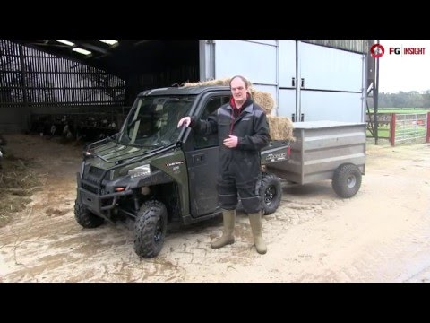 Polaris diesel ranger: On-test