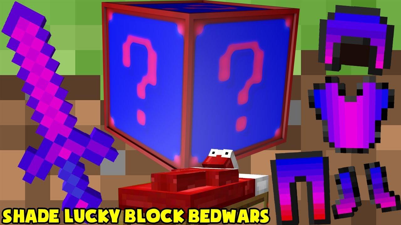 MINI GAME : SHADE LUCKY BLOCK BEDWARS ** THANH KIẾM VIP CHỈ NGƯỜI VIP MỚI CẦM ĐƯỢC ??