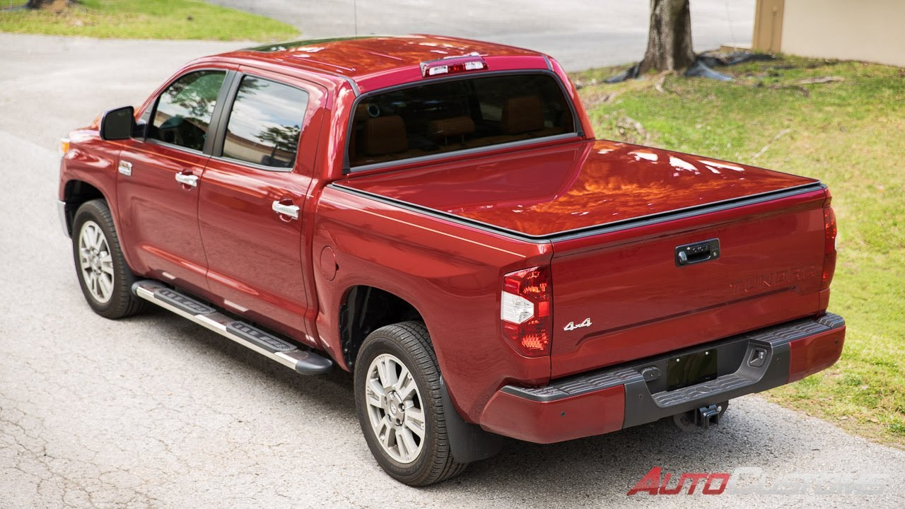 907409054dc Lazerlite tonneau cover install on 2014 Toyota Tundra - AutoCustoms ...
