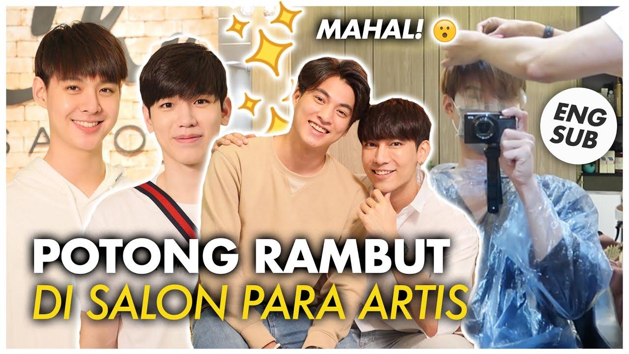 Potong Rambut Di Thailand Di Salon Para Artis Harganya Berapa Ya Best Salon In Bangkok Chi Salon Youtube