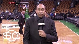 Stephen A. Says Cavs Could Sweep Celtics | SportsCenter | ESPN